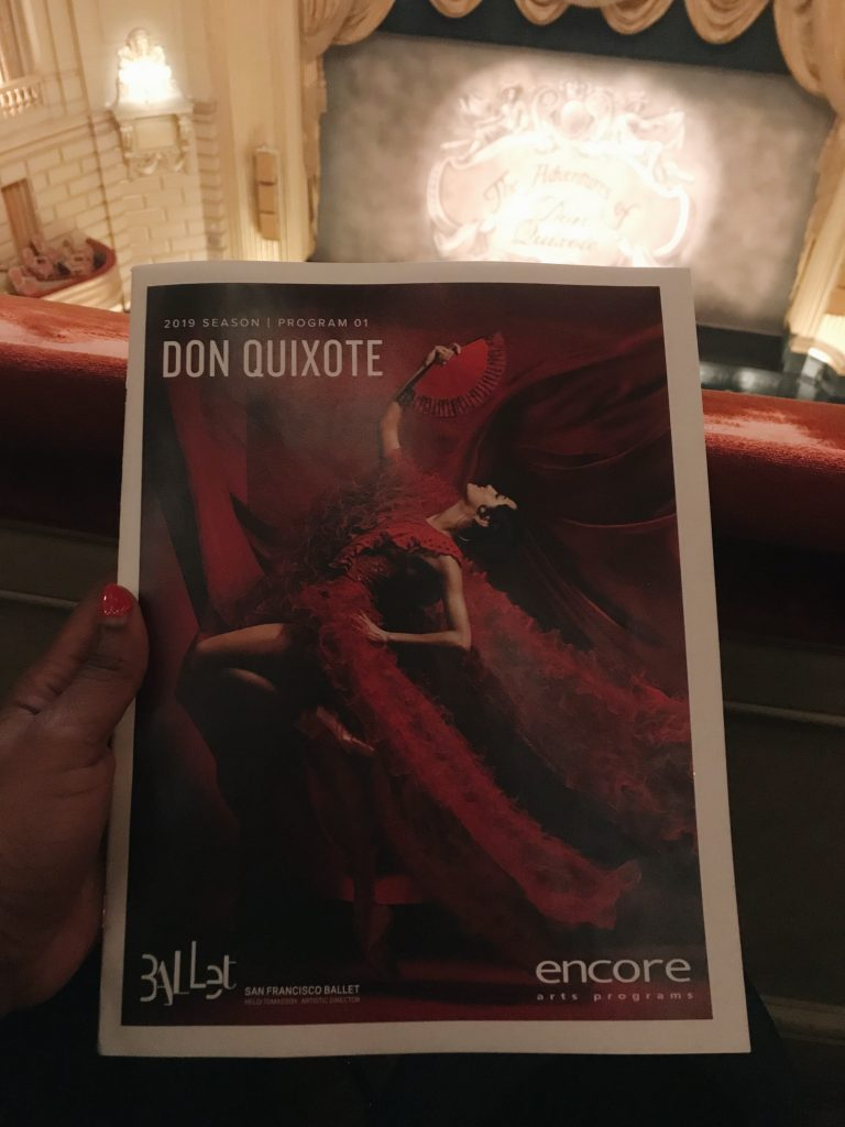 don quixote sf ballet pamplet